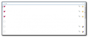 Firefox autocomplete address has missing text in the drop down.