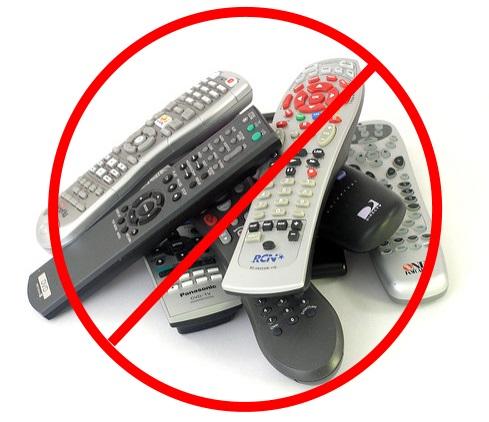 No more remotes