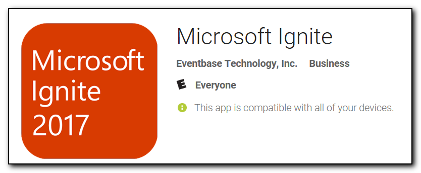 Microsoft Ignite app on the Google play store. Would you trust this app?